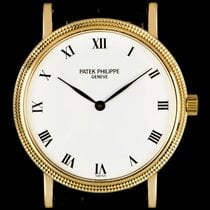 Patek Philippe 33mm Automatic pre-owned Calatrava White