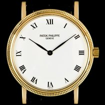 Patek Philippe 3992J Yellow gold Calatrava 33mm