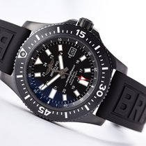 Breitling Superocean 44 Steel 44mm Black No numerals United States of America, New Jersey, Princeton