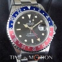 Rolex GMT-Master Acier 40mm Noir Sans chiffres
