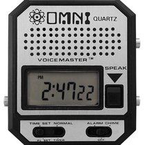 Omni Mans talking Wristwatch Voicemaster with robotic Voice...