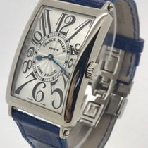 Franck Muller White gold Automatic Silver Arabic numerals 30mm pre-owned Long Island