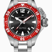 Hamilton Khaki Navy Frogman Steel 42mm Black Arabic numerals United States of America, Massachusetts, Florence