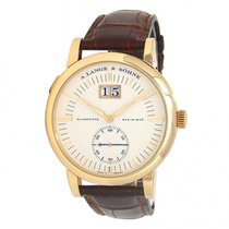 A. Lange & Söhne Grand Langematik Yellow gold 40mm Champagne United States of America, New York, New York