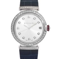 Bulgari Lucea White gold 33mm Silver United States of America, New Jersey, Cresskill