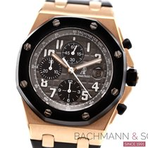 Audemars Piguet Red gold Automatic Grey Arabic numerals 42mm pre-owned Royal Oak Offshore Chronograph