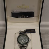 Delma Steel 42mm Quartz 41701.562.6C144 new