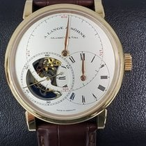 A. Lange & Söhne Richard Lange Rose gold 41.9mm Silver United States of America, New York, Manhattan