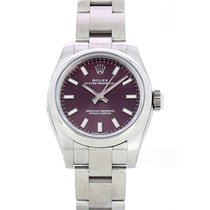 Rolex Oyster Perpetual 26 Acero 26mm Rojo