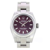 Rolex Oyster Perpetual 26 Steel 26mm Red