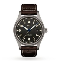 IWC Titanium Automatic Black Arabic numerals 40mm new Pilot Mark