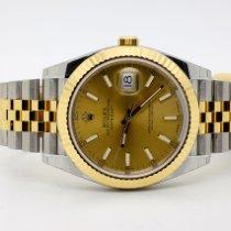 Rolex 126333 Oro/Acciaio Datejust 41mm nuovo Italia, l'aquila