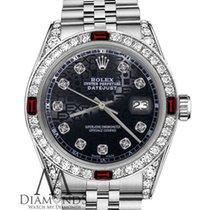 Rolex Lady-Datejust Steel 26mm Black United States of America, New York, New York