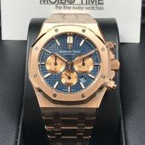 Audemars Piguet Royal Oak Chronograph 41mm blue dial [new]