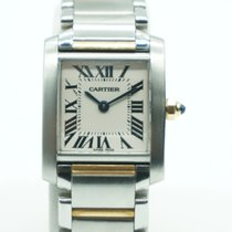 Cartier Tank Française Lady Two Tone 2384 - MINT CONDITION