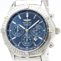 Breitling Shadow Flyback Chronograph Automatic Mens Watch...