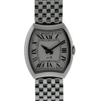 Bedat & Co No 3 Quartz Stainless Steel With Silver Roman Dial...