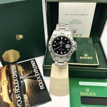 Rolex Explorer II 16550 Like NOS Rail Dial Full Set Box &...