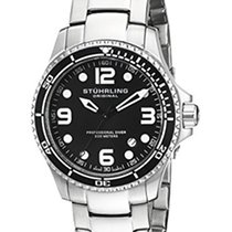 Stuhrling Original Grand Regatta Men's Quartz Watch with Black...