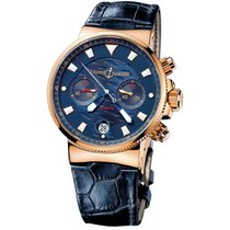 Ulysse Nardin Blue Seal Or rose 41mm Bleu