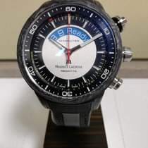 Maurice Lacroix Carbon Automatic Black 45mm new Pontos
