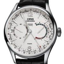 Oris Steel 43mm Manual winding 01 113 7738 4061 new