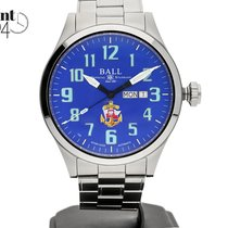 Ball Steel 46,00mm Automatic BALL ENGINEER III SILVER STAR POLISH NAVY NM2180C-S10J-BE new