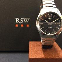 RSW Steel 36mm Quartz 6240.BS.S0.1.00 new