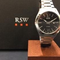 RSW Stål 36mm Kvarts 6240.BS.S0.1.00 ny