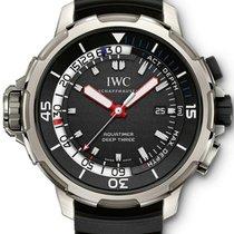 IWC Aquatimer Deep Three Aço 46mm Preto