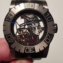 Roger Dubuis Titanium Manual winding 48mm pre-owned Easy Diver