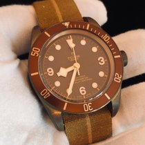 Tudor pre-owned Automatic 43mm Brown Sapphire Glass 20 ATM