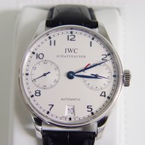 IWC IW500107 Steel 2008 Portuguese Automatic 42mm pre-owned United States of America, California, PACIFIC PALISADES