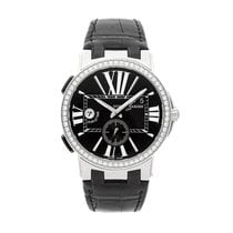 Ulysse Nardin Executive Dual Time Steel 43mm Black Roman numerals United States of America, Pennsylvania, Bala Cynwyd