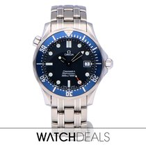Omega Seamaster Diver 300 M Steel 36mm Blue No numerals