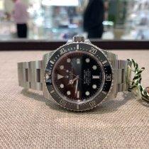 Rolex Sea-Dweller 4000 Steel 40mm Black No numerals United Kingdom, Gateshead