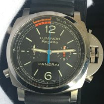 Panerai Luminor 1950 Regatta 3 Days Chrono Flyback PAM 00526 Odlično Titan 47mm Automatika