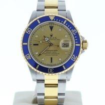 Rolex Submariner Date Gold/Steel 40mm Yellow