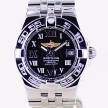 Breitling Starliner Steel 30mm Black No numerals