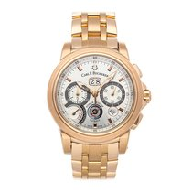 Carl F. Bucherer Rose gold 44.6mm Automatic 00.10623.03.13.01 pre-owned