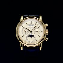 Patek Philippe Perpetual Calendar Chronograph Gelbgold 36mm Schweiz, Geneva