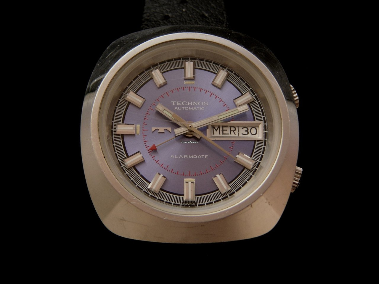 Technos Vintage Automatic Alarmdate Watch 70 S Sold On