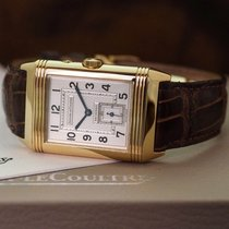 Jaeger-LeCoultre Yellow gold Manual winding 26mm pre-owned Reverso Duoface