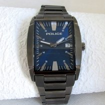 Police BIG size with box and papers, gunmetal
