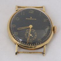 Marvin Yellow gold 34mm Manual winding 8887 137 pre-owned