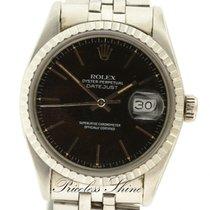 Ρολεξ (Rolex) Datejust Vintage Black 36mm Steel Automatic...