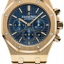 Audemars Piguet 26320BA.OO.1220BA.02 Yellow gold 2017 Royal Oak Chronograph 41mm new United States of America, New York, New York