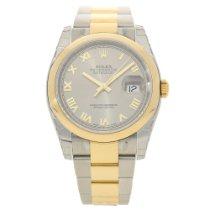 Rolex Datejust 116203 - Gents Watch - Steel Dial - Unworn 2016
