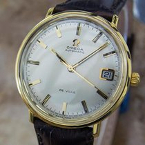 Omega DeVille Swiss Made Automatic Mens Gold Plated 1960s...