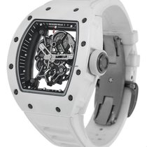 Richard Mille RM055 White Ceramic and Titanium - Bubba Watson